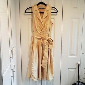 Gold Jones Wear Dress